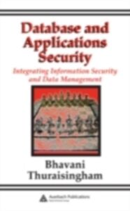 Ebook in inglese Database and Applications Security Thuraisingham, Bhavani
