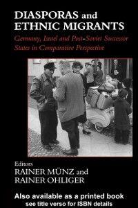 Ebook in inglese Diasporas and Ethnic Migrants