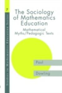 Ebook in inglese Sociology of Mathematics Education Dowling, Paul