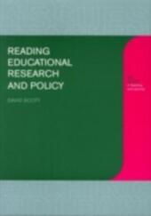 Reading Educational Research and Policy