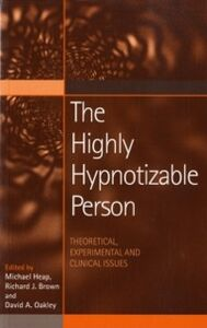 Foto Cover di Highly Hipnotisable Person, Ebook inglese di  edito da Taylor and Francis