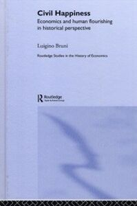 Ebook in inglese Civil Happiness Bruni, Luigino