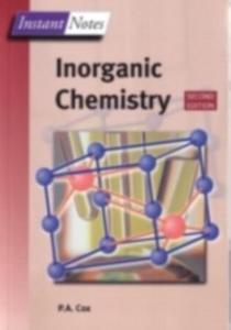 Ebook in inglese Instant Notes in Inorganic Chemistry Cox, Tony