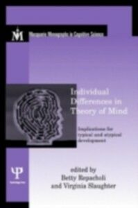 Foto Cover di Individual Differences in Theory of Mind, Ebook inglese di  edito da Taylor and Francis