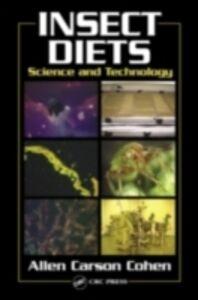Foto Cover di Insect Diets, Ebook inglese di Allen Carson Cohen, edito da CRC Press