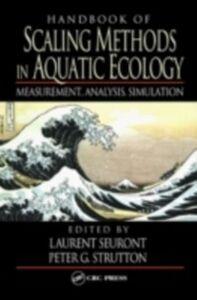 Foto Cover di Handbook of Scaling Methods in Aquatic Ecology, Ebook inglese di  edito da CRC Press