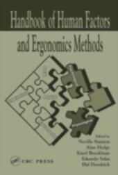 Handbook of Human Factors and Ergonomics Methods