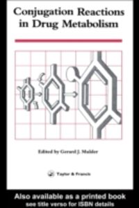 Foto Cover di Conjugation Reactions In Drug Metabolism, Ebook inglese di  edito da CRC Press