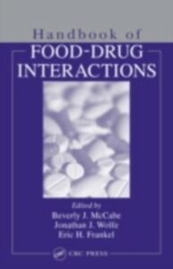 Foto Cover di Handbook of Food-Drug Interactions, Ebook inglese di  edito da CRC Press