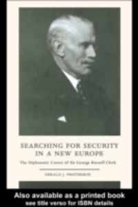 Foto Cover di Searching for Security in a New Europe, Ebook inglese di Gerald J. Protheroe, edito da Taylor and Francis
