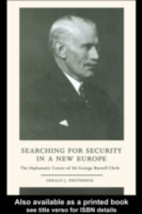 Ebook in inglese Searching for Security in a New Europe Protheroe, Gerald J.