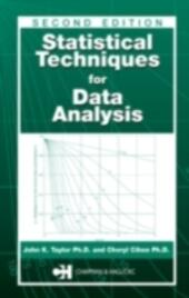 Statistical Techniques for Data Analysis, Second Edition