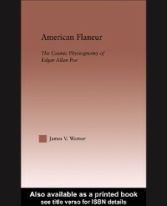 Ebook in inglese American Flaneur Werner, James V.