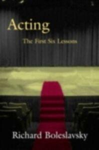 Ebook in inglese Acting Boleslavsky, Richard