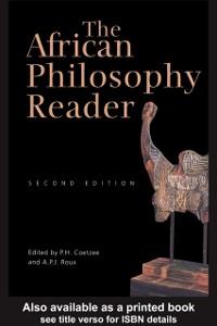 Ebook in inglese African Philosophy Reader -, -