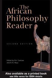African Philosophy Reader