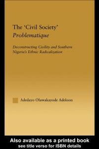Ebook in inglese 'Civil Society' Problematique Adekson, Adedayo Oluwakayode