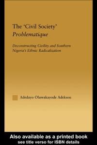 Ebook in inglese 'Civil Society' Problematique Adekson, Adedayo Oluwakayode
