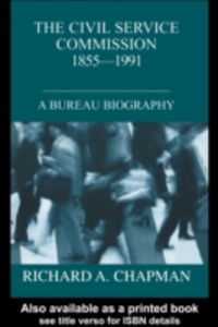 Ebook in inglese Civil Service Commission 1855-1991 Chapman, Richard A.