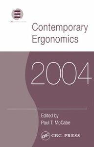 Foto Cover di Contemporary Ergonomics 2004, Ebook inglese di  edito da CRC Press