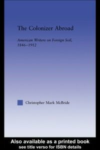 Ebook in inglese Colonizer Abroad McBride, Christopher