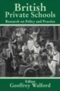 Ebook in inglese British Private Schools