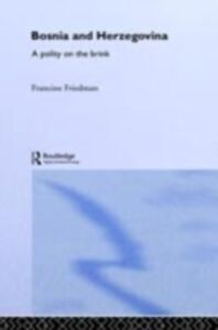 Ebook in inglese Bosnia and Herzegovina Friedman, Francine