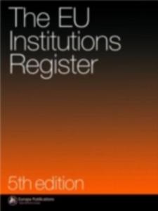 Ebook in inglese EU Institutions' Register -, -