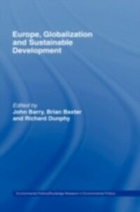 Ebook in inglese Europe, Globalization and Sustainable Development -, -