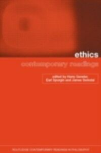 Ebook in inglese Ethics: Contemporary Readings