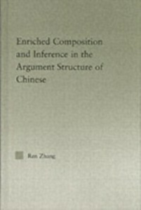 Ebook in inglese Enriched Composition and Inference in the Argument Structure of Chinese Zhang, Ren