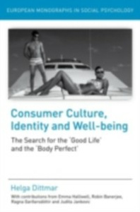 Ebook in inglese Consumer Culture, Identity and Well-Being Dittmar, Helga
