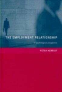 Foto Cover di Employment Relationship, Ebook inglese di Peter Herriot, edito da Taylor and Francis