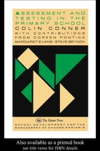 Ebook in inglese Assessment And Testing In The Primary School Conner, Colin