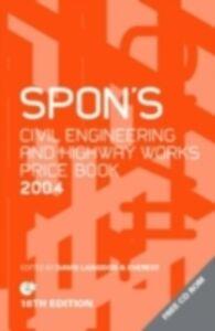 Ebook in inglese Spon's Civil Engineering and Highway Works Price Book 2004 Everest, Davis Langdon &