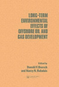 Ebook in inglese Long-term Environmental Effects of Offshore Oil and Gas Development -, -