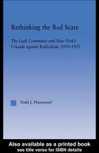 Ebook in inglese Rethinking the Red Scare Pfannestiel, Todd J.