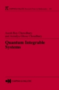 Ebook in inglese Quantum Integrable Systems Choudhury, Aninlya Ghose , Chowdhury, Asesh Roy