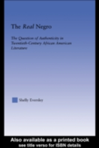 Ebook in inglese Real Negro Eversley, Shelly