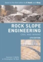 Rock Slope Engineering, Fourth Edition