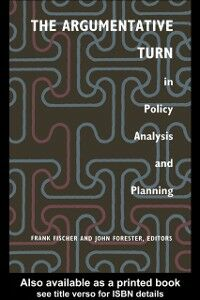 Foto Cover di Argumentative Turn In Policy Analysis And Planning, Ebook inglese di  edito da Taylor and Francis