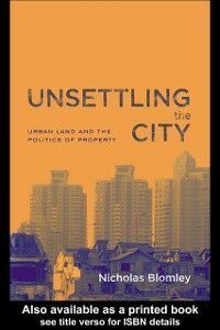 Ebook in inglese Unsettling the City Blomley, Nicholas