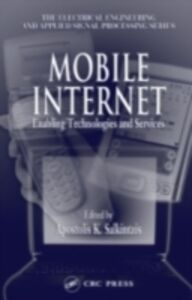 Foto Cover di Mobile Internet, Ebook inglese di  edito da CRC Press