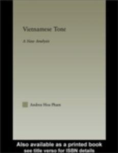 Ebook in inglese Vietnamese Tone Pham, Andrea Hoa
