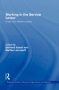 Ebook in inglese Working in the Service Sector