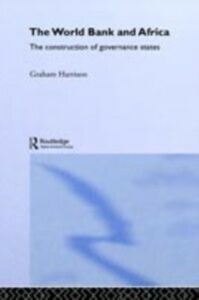 Ebook in inglese World Bank and Africa Harrison, Graham