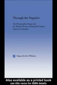 Ebook in inglese Through the Negative Williams, Megan