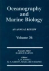 Oceanography And Marine Biology: An Annual Review