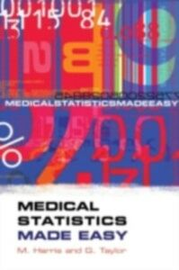 Ebook in inglese Medical Statistics Made Easy Harris, Michael , Taylor, Gordon
