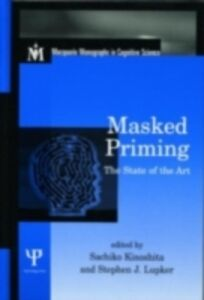 Foto Cover di Masked Priming, Ebook inglese di  edito da Taylor and Francis
